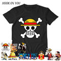 one piece T shirt men 100% cotton t-shirt brand clothing tshirt homme anime White beard Monkey.D.Luffy Anime Fashion camiseta