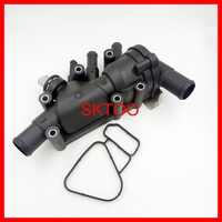 New Thermostat Housing with sensor For 2003 2008 Ford KA 1.3i 1.6i Duratec OE: XS6E 8A586 AL / XS6E 8A586 AG / XS6E 8A586 AH
