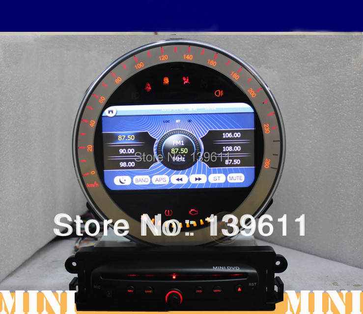 zestech car dvd player for mini cooper car dvd gps. Black Bedroom Furniture Sets. Home Design Ideas