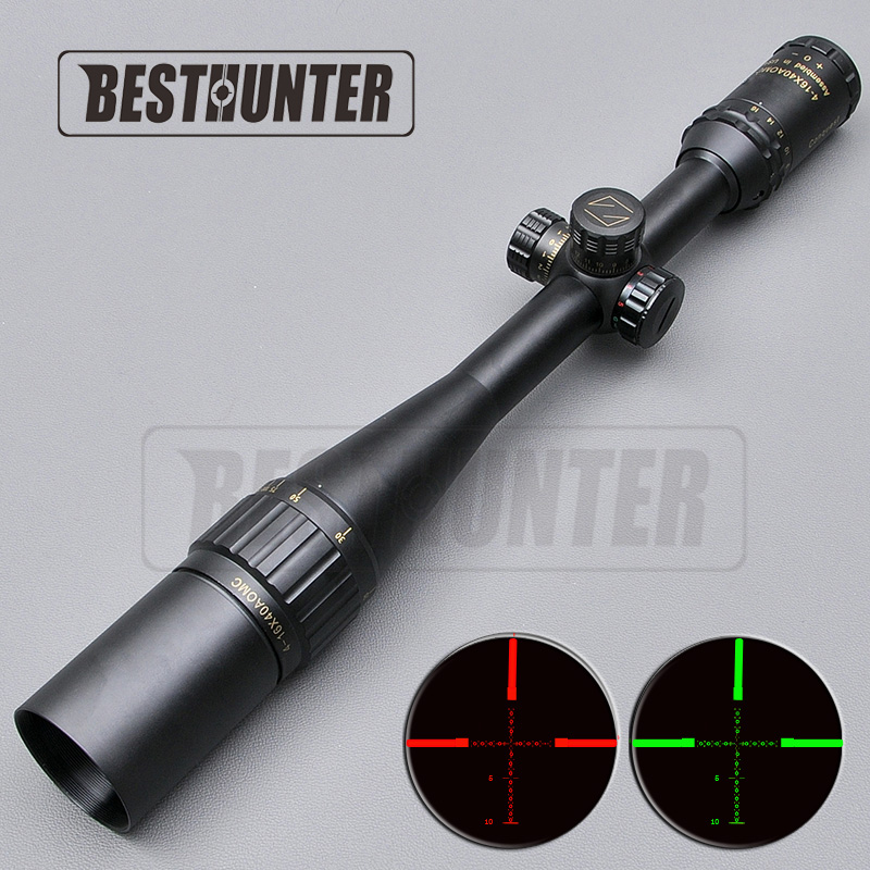 Carl ZEISS 4 16X40 Tactical Scope Golden Letter Making Optics Air Rifle Optics Sight Illuminated Riflescopes