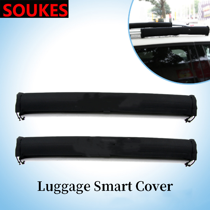 Car Roof Rack Support Rod Box Protection Cover For Skoda Octavia A5 A7 Kodiaq Superb 2 Rapid Fabia 1 Porsche 911 Cayenne Macan
