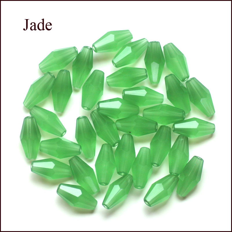 Marquise Beads 2017 New Hot Fashion Jewelry Glass Loose Beads oval Mixed at Random 12 6mm 100 PCs Lot in Beads from Jewelry Accessories