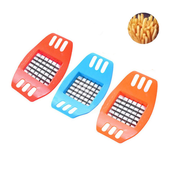 1Pcs Potato Slicer Stainless Steel Vegetable Square Manual Slicer Fries Fruit Chopper Home Kitchen Gadget Accessories Hot New