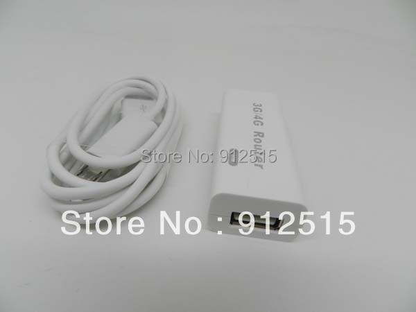 1pcs/lot Portable Mini Wireless wifi Router 3G 4G Hotspot RJ45 150Mbps Wifi Hotspot support 3G USB modems Free Shipping
