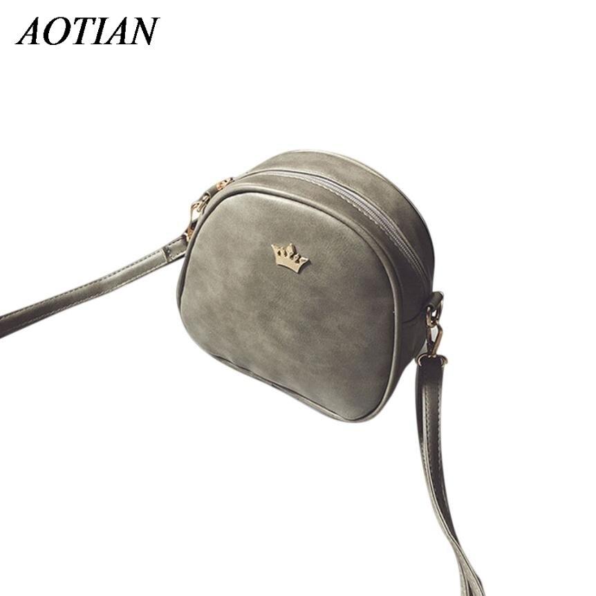 High Quality PU Leather Mini Women Messenger Bag Circle Crossbody Bags Solid Shoulder Bag Women Handbag Round Purses Dec28 new original 10 4 inch scn a5 flt10 4 z14 0h1 r e929264 touch screen glass