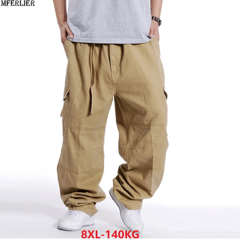 77e1738681c804 BIG SALE  CHEAP Men cargo pants plus size 6XL 7XL 8XL big size large ...