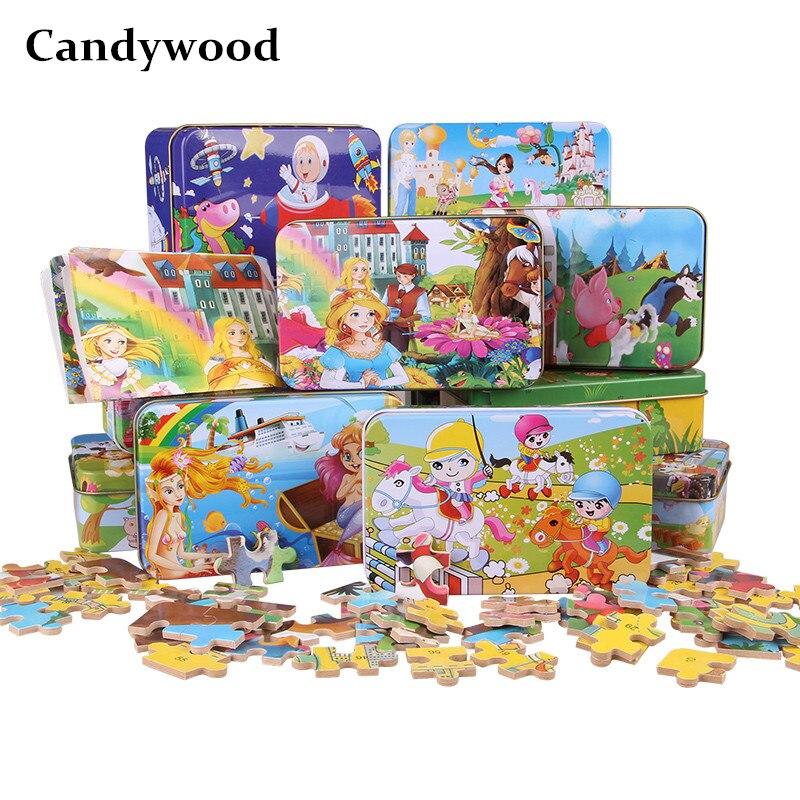 Candywood 60Pcs Cartoon Ζωικό Ζωγραφική - Παιχνίδια και παζλ - Φωτογραφία 1