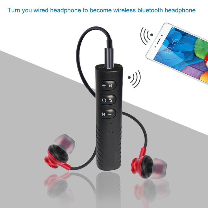 2017 neueste 3,5mm Drahtlose Bluetooth 4,1 Audiomusik-empfänger-adapter für Auto Lautsprecher Machen Verdrahtete Kopfhörer Lautsprecher Werden Bluetooth