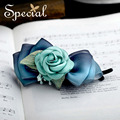 Special New Girls Hair Pin and Clips Flower Hair Accessories Fashion Wedding Hair Jewelry for Women Bride FS150902