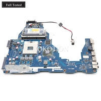 NOKOTION K000124370 LA 7202P MAINBOARD for toshiba satellite C660 laptop motherboard Intel HM65 GMA HD3000 DDR3