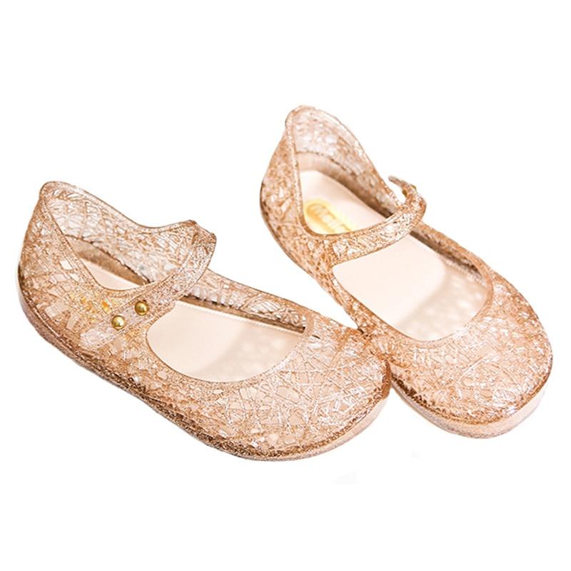 2017 kinderen sandalen schoenen meisjes zomer gaas gat ademende - Kinderschoenen - Foto 2