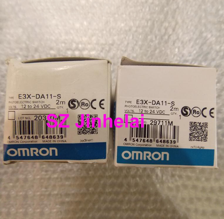 Authentic original E3X-DA11-S OMRON Photoelectric switch 2M цена