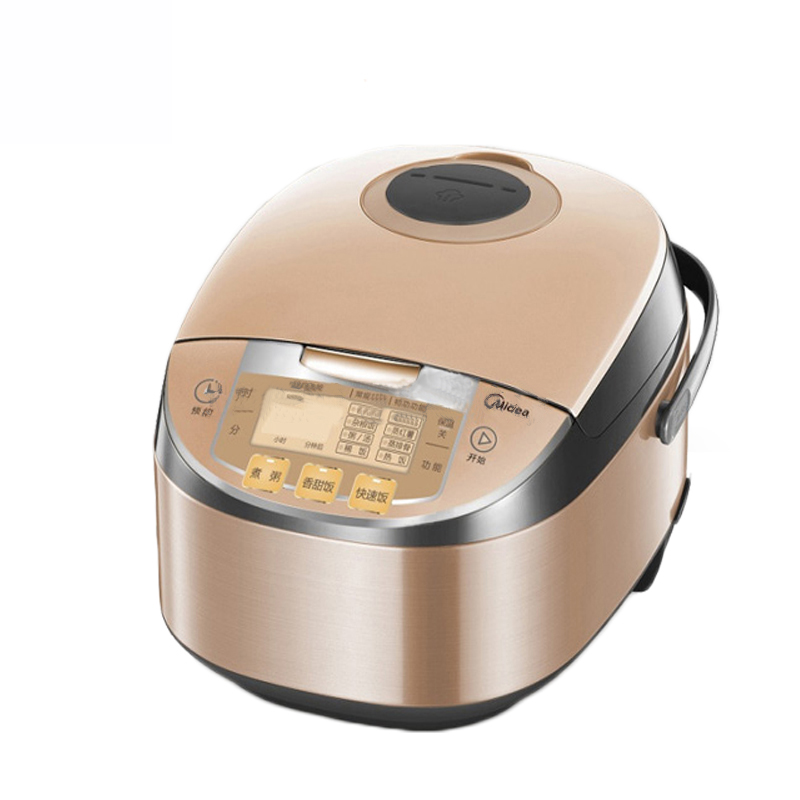 5L Smart Rice Cooker Honeycomb Liner Rice Cooker 770W 220V Microcomputer Type Rice Cooker Suitable for 6-8 People MB-FS5017