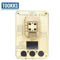 2018 WL PCIE NAND Flash IC программист NAND Тесты приспособление для iPhoneX 8 г 8 P HDD Тесты серийный номер SN инструмент