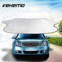 VEHEMO רכב SUV רכב שפתוחה חלון שמש כיסוי שמשיה שמשה קדמית צל רפלקטיבית אביזרי הגנת שמש