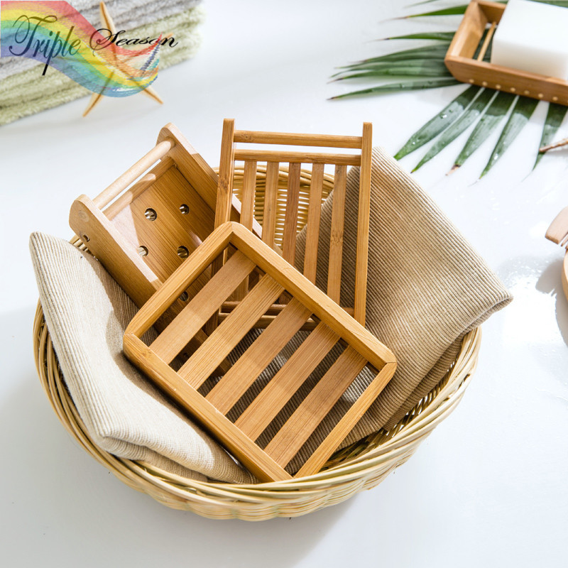 sale 1 piece new boat pattern wooden bathroom soap box fashion creative bathroom accessories sets