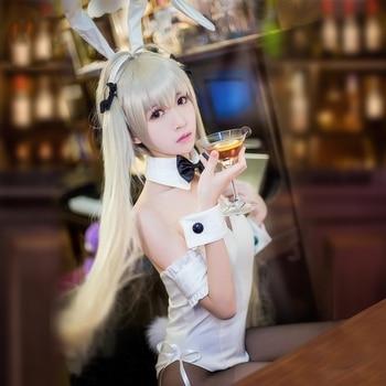 Yosuga no Sora Kasugano Sora Cosplay Sexy Bunny Costume Lolita Maid Dress Halloween Costumes for Women Adult Costumes S-XL 1