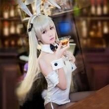 Yosuga no Sora Kasugano Cosplay Sexy Bunny Costume Lolita Maid Dress Halloween Costumes for Women Adult S-XL
