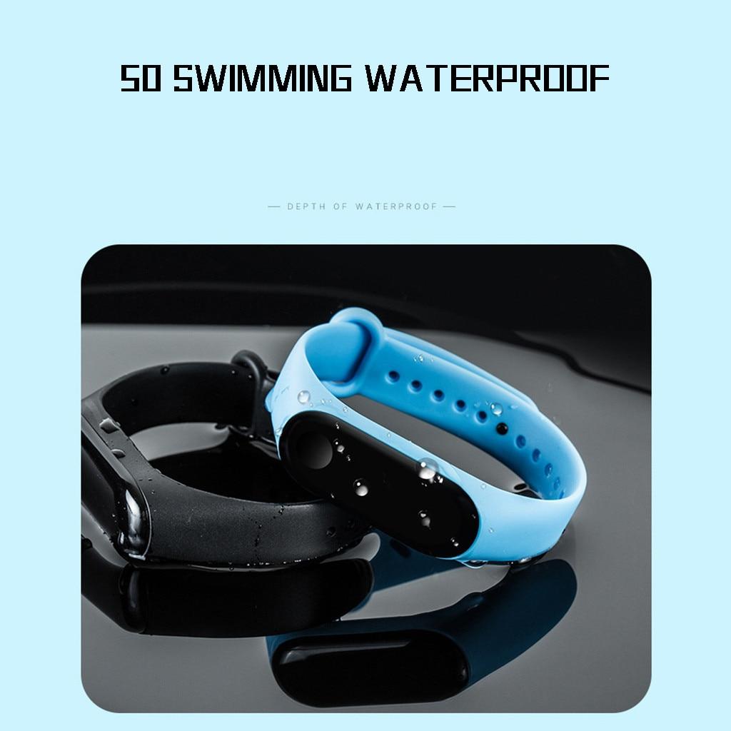 LED Electronic Sports Luminous Sensor Watches Fashion Men and Women Watches  Dress Watch digital Watch fashion gif Men's wa 3