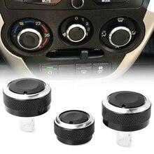Pomo de aire acondicionado para el coche pomo de Control de calor de la perilla del botón del interruptor de la perilla de CA para los accesorios del coche de Lada Granta