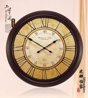 Ultralarge antique fashion wall clock mute modern fashion quartz watches and clocks clock