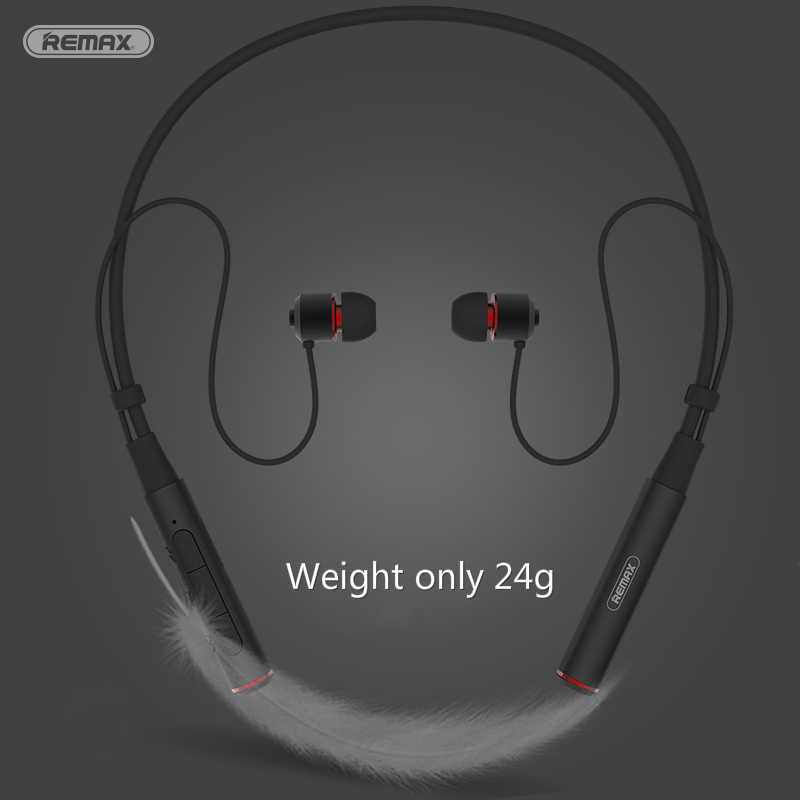 Remax Wireless Stereo Sports Neckband <font><b>Bluetooth</b></font> Music earphone HD Mic Multi Connections for iphone xiaomi RB-<font><b>S6</b></font> + Retail package image