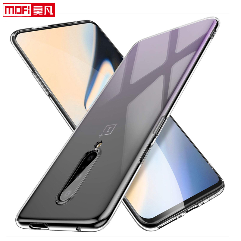 Image 3 - Oneplus 7 pro case Oneplus 7 case cover 1+7 silicon soft ultra thin funda mofi transparent back clear coque Oneplus 7 pro case-in Fitted Cases from Cellphones & Telecommunications