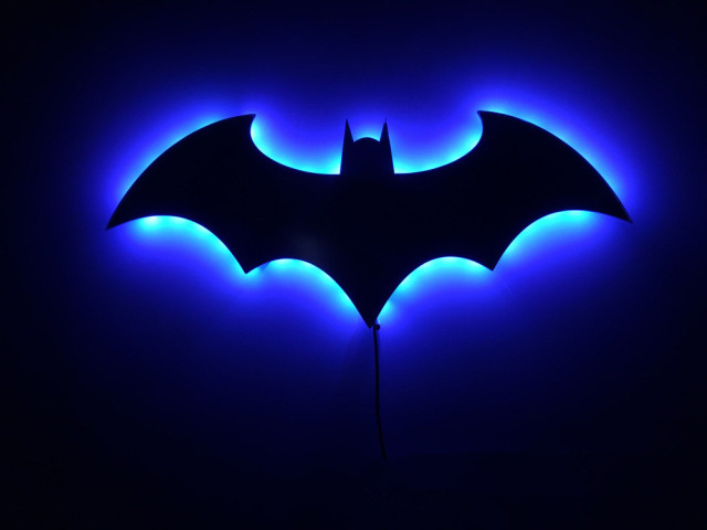 Aliexpress Buy Batman 3d Night Light Led Wall Lamp Batman
