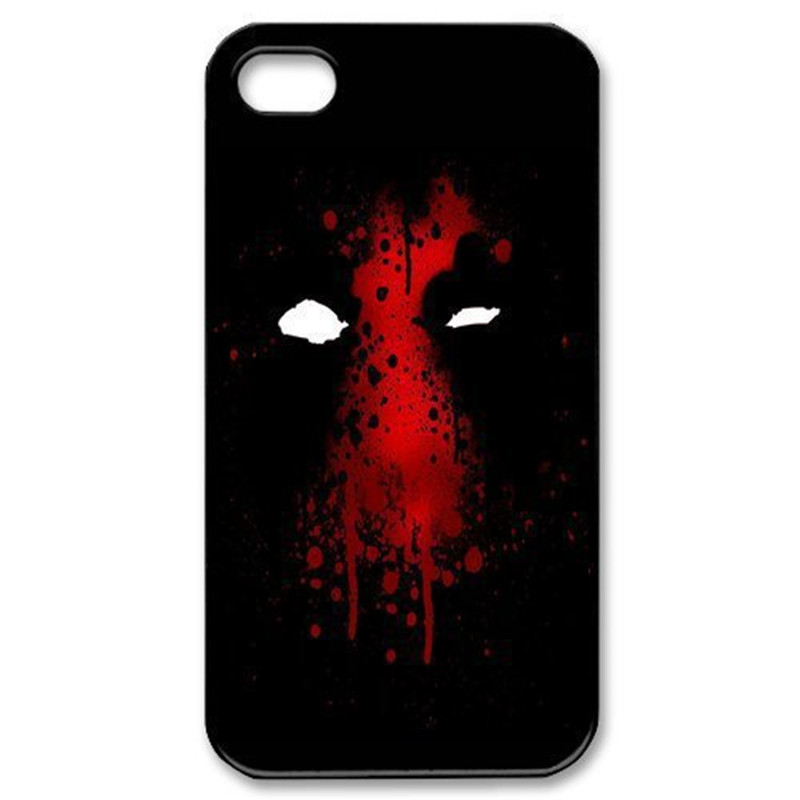 Super Hero Deadpool Theme Cover Case for iPhone 4 4S 5 5S 5C 6 6S Plus For Samsung Galaxy S3 S4 S5 Mini S6 S7 edge Note 2 3 4