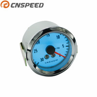 Free Shipping 52mm Electrical Luminescent Vacuum Gauge With Step Down Transformer Car Meter Auto Gauge YC100944