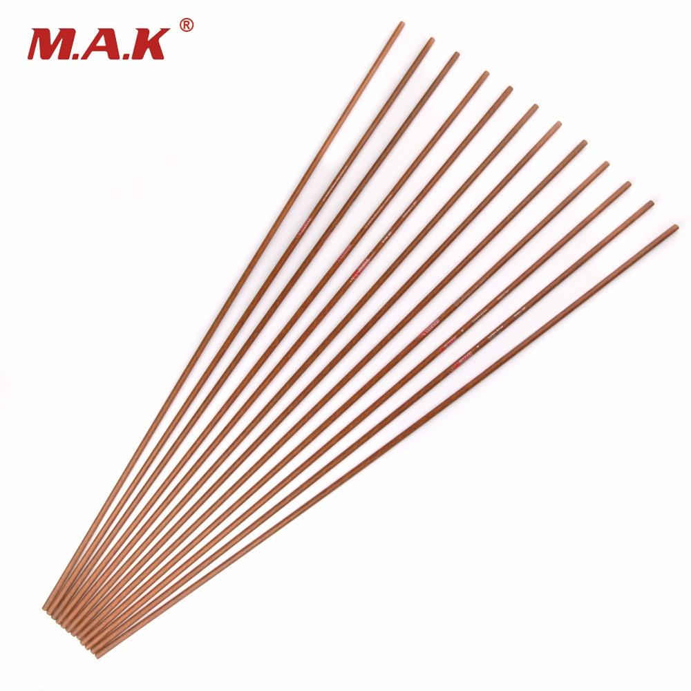 12pcs Spine 400 500 600 OD 8 mm 32 Inch Carbon Arrow shaft Arrow for Recurve
