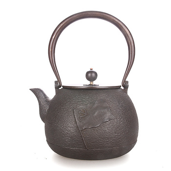 Japanese old cast iron tea pot handmade uncoating copper bottle water kettle Chinese puer tea ceremony teapot 1.3L