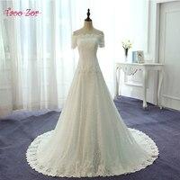 Taoozor رائع vestido دي noiva اللؤلؤ حمالة يزين الرباط ألف خط فستان الزفاف الصين تسوق صورة حقيقية ثوب الزفاف
