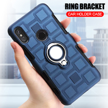 Cover For Motorola Moto One / P30 Play Shockproof Phone Case For Moto One / P30 Play Armor Anti-Fall Back Cover Ring Stand Case sfor phone case motorola one case luxury rubber phone case for motorola p30 play cover for moto one motorola one xt1941 fundas
