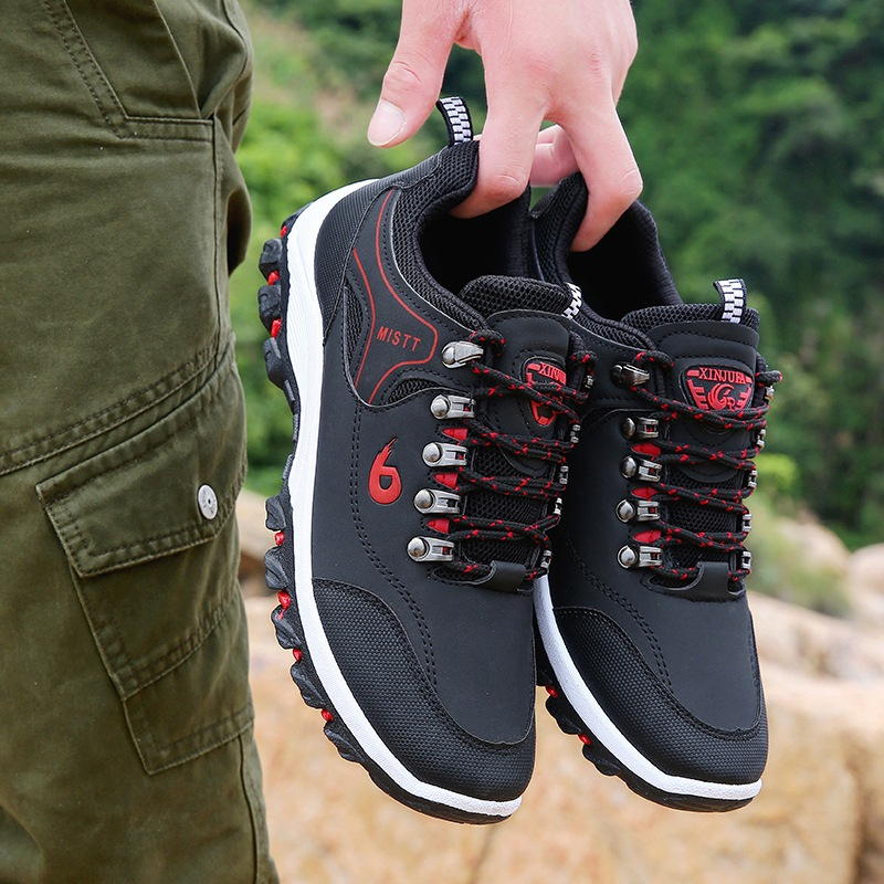 New Men Casual Shoes Leather Outdoor Hiking Shoes Men Sneakers Male Shoes Adult Casual Military Army Shoes Trainers FootwearNew Men Casual Shoes Leather Outdoor Hiking Shoes Men Sneakers Male Shoes Adult Casual Military Army Shoes Trainers Footwear