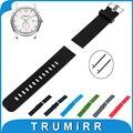 18mm 19mm 20mm 21mm 22mm pulseira de borracha de silicone watch band + ferramenta para hamilton rápida lançamento strap correia de pulso pulseira