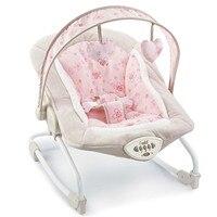 Подарок ребенку электрическая кресло качалка вышибалы новый детский стул отдыха Детские Автоматическая качает с музыкой, кресло качалка