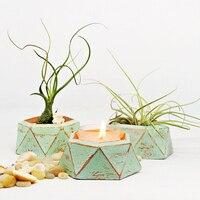 Бетон резиновая пепельница силиконовый подсвечник Плесень DIY дизайн литой горшок для сада