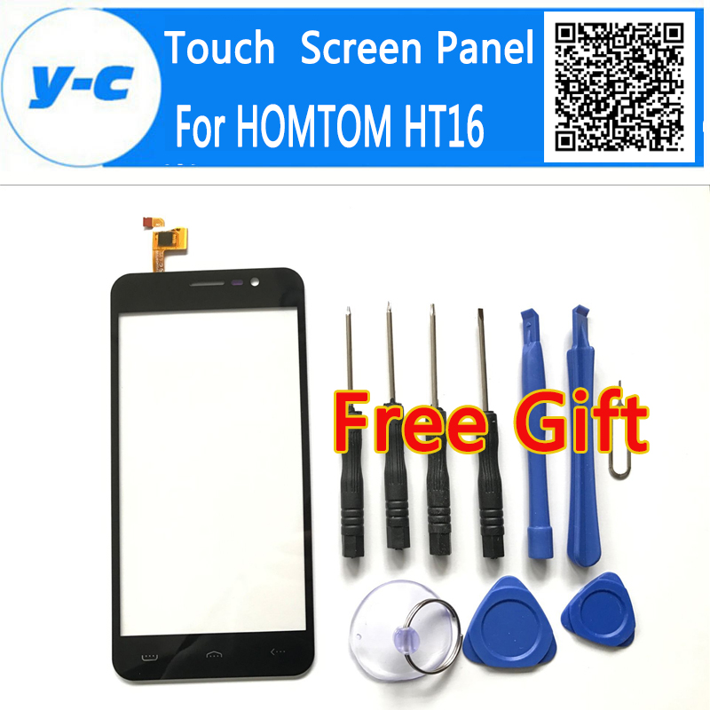 HOMTOM HT16 Touch Screen High Quality 100% New Digitizer Glass Panel Assembly Replacement For HOMTOM HT16 Pro