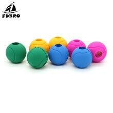 FDBRO 1 Pair Barbell Hand Ball Grips Dumbbell Kettlebell Fat Grip