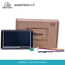 """Nextion enhanced nx4827k043 일반 4.3 """"480*272 내장 rtc/대형 플래시 용량/빠른 mcu 클럭 hmi 터치 디스플레이"""