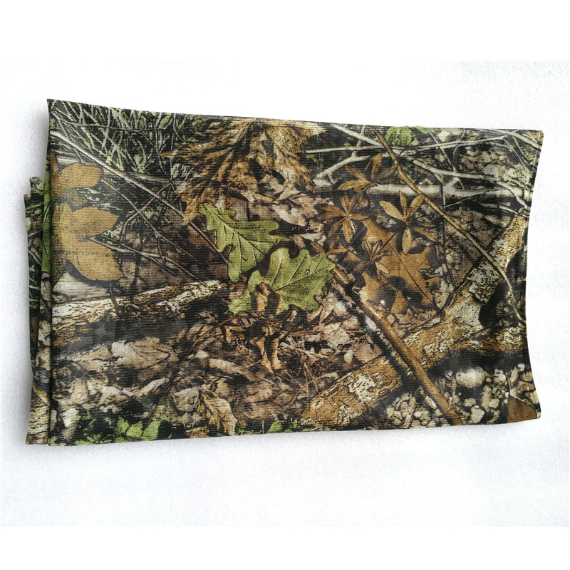 New Hunting Ghillie Cloth Suit Camouflage Raw Material Breathable Fabric Cloth