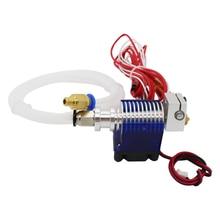 ANYCUBIC 3D принтер V6 дистанционного печатающей головки экструдера с кабелем трубки и вентилятор охлаждения Кронштейн, J-HEAD с боуден и вентилятор охлаждения