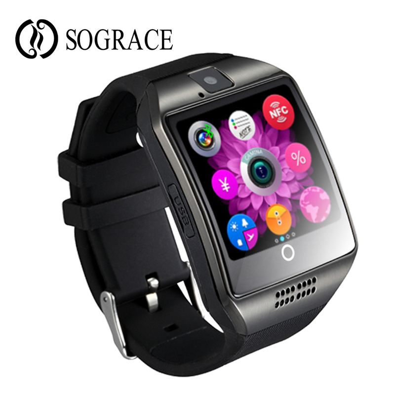 Bluetooth Smart Watch Q18 Clock Support TF Card Passometer Camera SIM Card Call Smartwatch For Android Phone Better Than Y1 умные часы smart watch y1