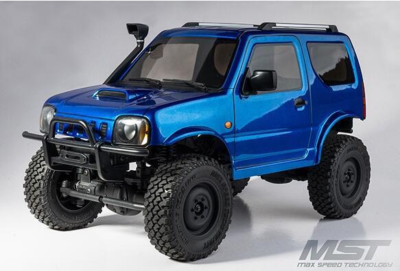 1 10 Rc 4wd Suzuki Jimny Mst Cmx Cfx Kit High Off Road Car Wading