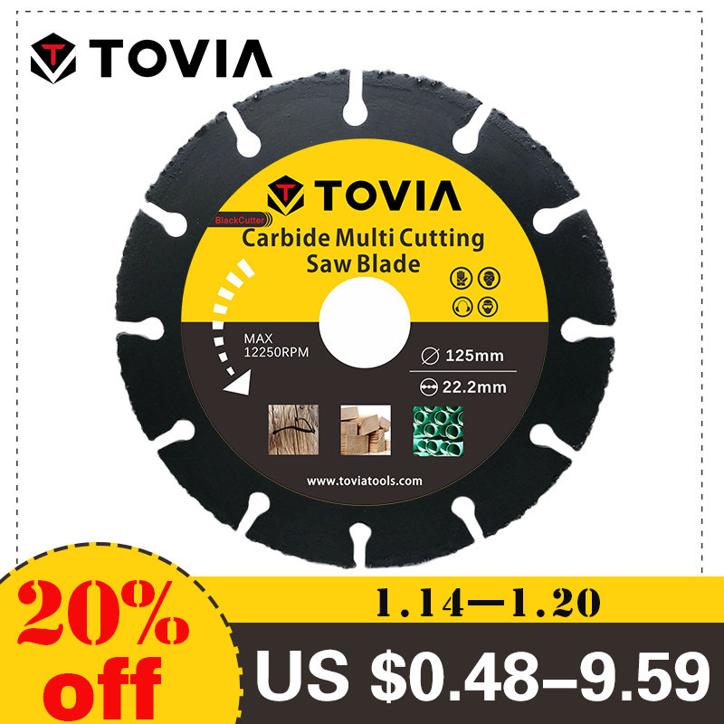 TOVIA BlackCutter Saw Blade Multitool Grinder Cutting Disc GRAFF Multiwheel Converts An Angle Grinder Into a Multipurpose Tool