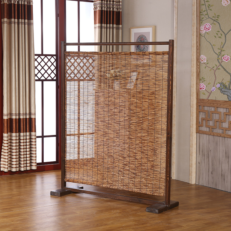 Bamboo decor in room divider pictures to pin on pinterest for Room divider art