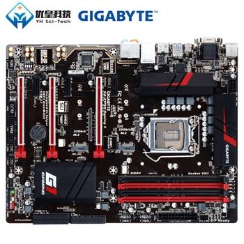 Gigabyte GA-Z170X-GAMING 3 Intel Z170 Original Used Desktop Motherboard LGA 1151 i7 i5 i3 DDR4 64G SATA3 VGA HDMI DVI M.2 ATX цена 2017