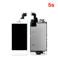 20PCS Lot AAA Screen Display For IPhone 5S LCD Screen With Touch Digitizer Full Assembly Grade