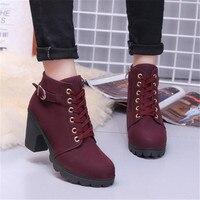 Woman Boots Women Shoes Ladies Thick Fur Ankle Boots Women High Heel Platform Rubber Shoes Snow Boots jmi8